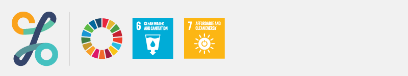 CSO SDGs banner with SDG indicator icons 6 & 7