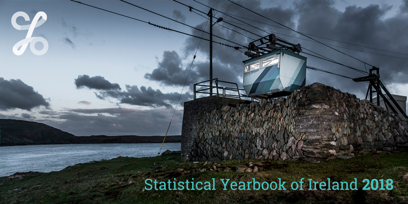 Statistical Yearbook of Ireland 2018 banner image
